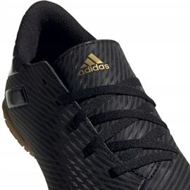 Adidas Nemeziz 19.4 In Jr EG3314 chaussures de football noir noir 3