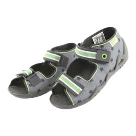 Chaussures enfant jaune Befado 250P086 4
