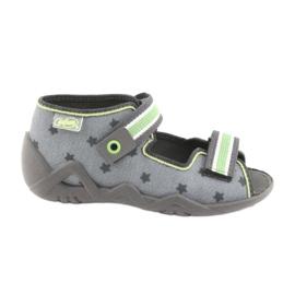 Chaussures enfant jaune Befado 250P086 1