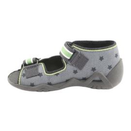 Chaussures enfant jaune Befado 250P086 3