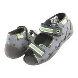Chaussures enfant jaune Befado 250P086 5