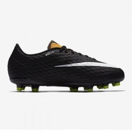 Nike Hypervenom Phelon Iii Fg Jr 852595 801 jaune chaussures 3