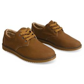 Bottes Chaussures Classiques 1307 Camel brun 2