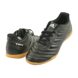 Chaussures Indoor adidas Copa 19.4 In M F35485 noir 4