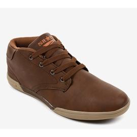 Sneakers hommes marron 15M787 brun 1