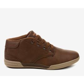 Sneakers hommes marron 15M787 brun 2