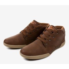 Sneakers hommes marron 15M787 brun 3