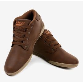 Sneakers hommes marron 15M787 brun 4