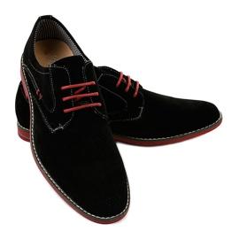 Chaussures élégantes noires 6-688 3