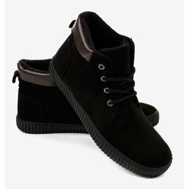 Sneakers noires isolées AN06 pour hommes 2