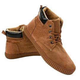 Sneakers homme isolés marron AN06 brun 2