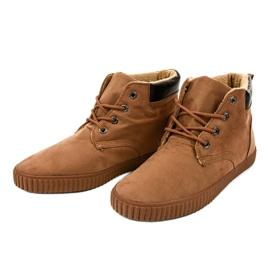 Sneakers homme isolés marron AN06 brun 3