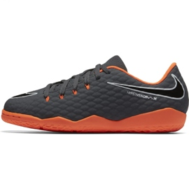 Nike Hypervenom PhantomX chaussures de football gris gris / argent 2