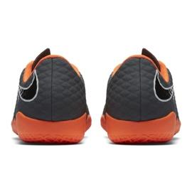 Nike Hypervenom PhantomX chaussures de football gris gris / argent 3