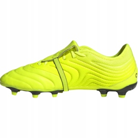 Chaussures de football Adidas Copa Gloro 19.2 Fg M F35491 jaune rose 1