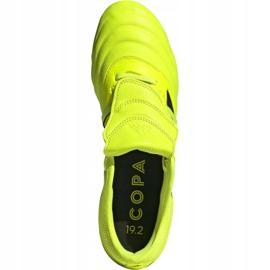 Chaussures de football Adidas Copa Gloro 19.2 Fg M F35491 jaune rose 2