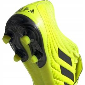 Chaussures de football Adidas Copa Gloro 19.2 Fg M F35491 jaune rose 4