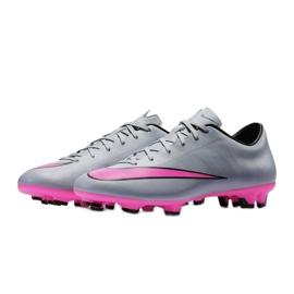 Chaussures de football Nike Mercurial Victory V Fg M 651632-060 gris gris / argent 2