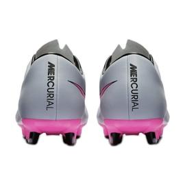 Chaussures de football Nike Mercurial Victory V Fg M 651632-060 gris gris / argent 3