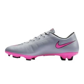 Chaussures de football Nike Mercurial Victory V Fg M 651632-060 gris gris / argent 4