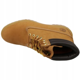 Chaussures d'hiver Timberland 6 Inch Boot M 73540 jaune 2