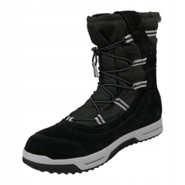 Timberland Snow Stomper Pull On Wp Jr A1UIK chaussures d'hiver noir 1