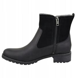 Chaussures d'hiver Timberland Bethel Biker W 6914B noir 1