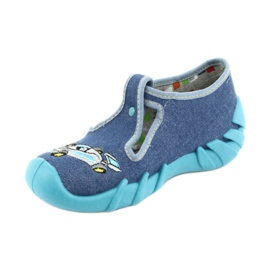 Befado chaussures pour enfants 110P320 bleu 2