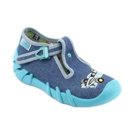 Befado chaussures pour enfants 110P320 bleu 1