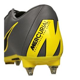 Chaussures de football Nike Mercurial Vapor 12 Academy Sg Pro Fg M AH7376-070 noir noir, jaune 1