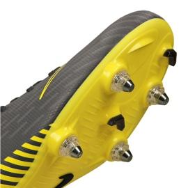 Chaussures de football Nike Mercurial Vapor 12 Academy Sg Pro Fg M AH7376-070 noir noir, jaune 2