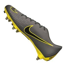Chaussures de football Nike Mercurial Vapor 12 Academy Sg Pro Fg M AH7376-070 noir noir, jaune 5