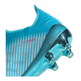 Chaussures de football Adidas X 19+ Fg F35323 bleu bleu 1