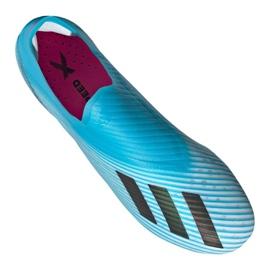 Chaussures de football Adidas X 19+ Fg F35323 bleu bleu 2