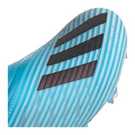 Chaussures de football Adidas X 19+ Fg F35323 bleu bleu 5