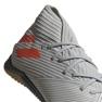 Adidas Nemeziz 19.3 In M EF8289 chaussures de football gris gris / argent 9