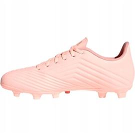 Adidas Predator 18.4 M FxG DB2008 chaussures de football rose rose 1
