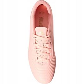 Adidas Predator 18.4 M FxG DB2008 chaussures de football rose rose 2
