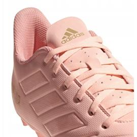 Adidas Predator 18.4 M FxG DB2008 chaussures de football rose rose 4