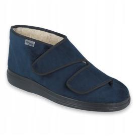Chaussures femme Befado pu 986D010 bleu marin 1