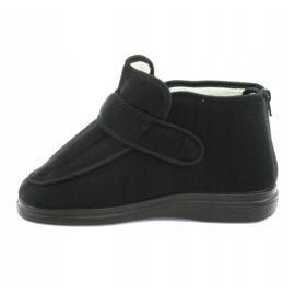 Befado chaussures pour femmes pu orto 987D002 noir 3