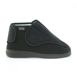 Befado hommes chaussures pu orto 163M002 noir 1