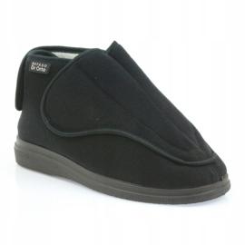 Befado hommes chaussures pu orto 163M002 noir 2