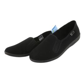 Befado chaussures hommes pvc 001M060 noir 3