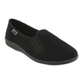 Befado chaussures hommes pvc 001M060 noir 2