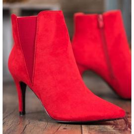 Marquiz Bottes Sur Un Stiletto rouge 1