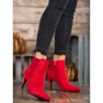 Marquiz Bottes Sur Un Stiletto rouge 4