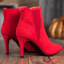 Marquiz Bottes Sur Un Stiletto rouge 2