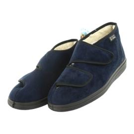 Befado chaussures pour femmes pu 986D010 marine 4