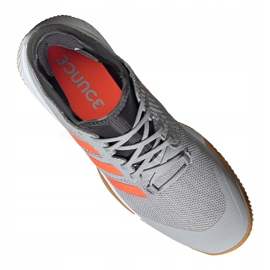 Adidas Court Team Bounce M EF2643 chaussures gris gris 4